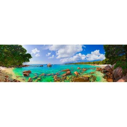 Фотообои панорама Мальдив | арт.2221