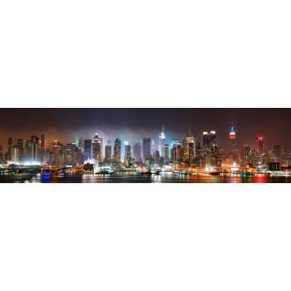 Фотообои Ночной Нью-Йорк | арт.2231