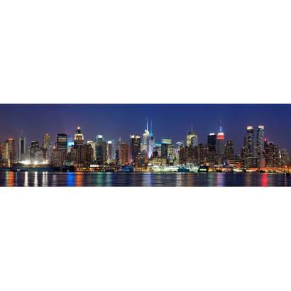 Фотообои Ночной Нью-Йорк | арт.2238