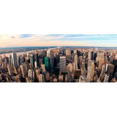Фотообои Нью-Йорк панорама | арт.2250