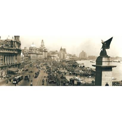 Фотообои Винтажная панорама | арт.сепия | арт.2287