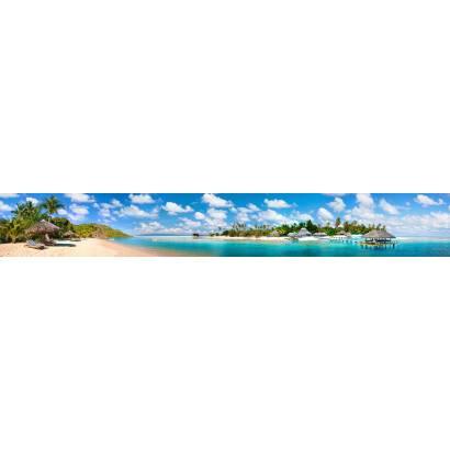 Фотообои Остров в лазурном море | арт.2298