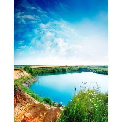 Фотообои Сельское Озеро | арт.23219