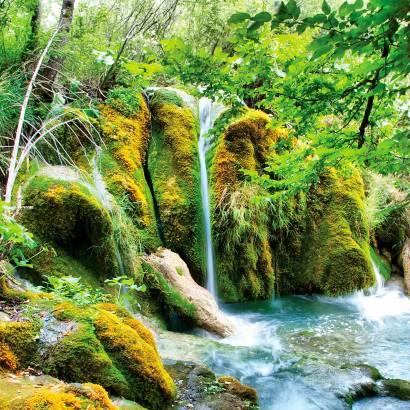 Фотообои Лесной Водопад | арт.23301