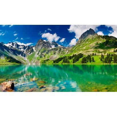 Фотообои Горное Озеро | арт.23362