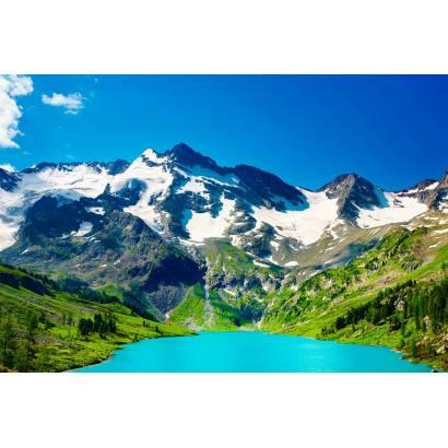 Фотообои Горное Озеро | арт.23366