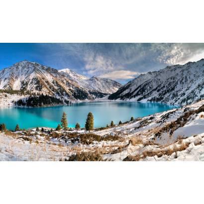 Фотообои Горное Озеро | арт.23368