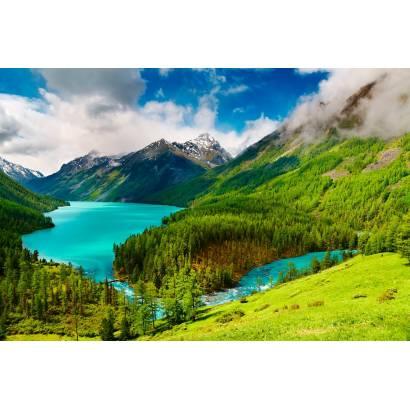 Фотообои Горное Озеро | арт.23377