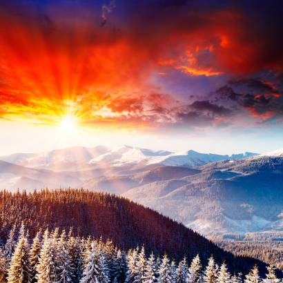 Фотообои Горы | арт.23453
