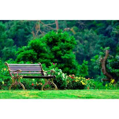 Фотообои Скамейка В Парке | арт.23494