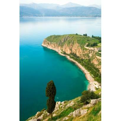 Фотообои Вид на горное озеро | арт.23541