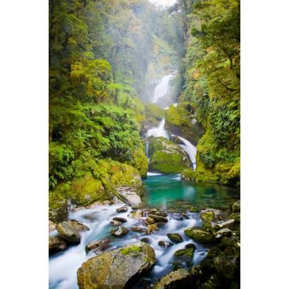 Фотообои Горный водопад | арт.23557