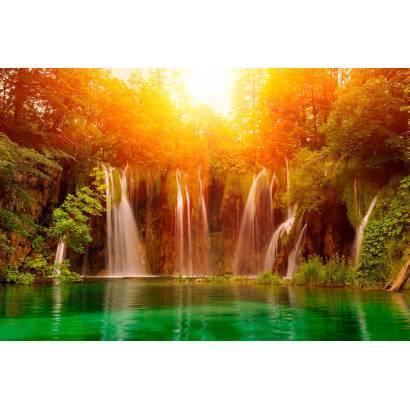 Фотообои Осенний водопад | арт.23609
