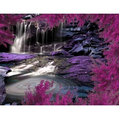 Фотообои Сиреневый сад | арт.23616
