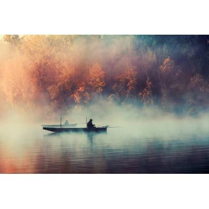 Фотообои Рыбаки | арт.23654
