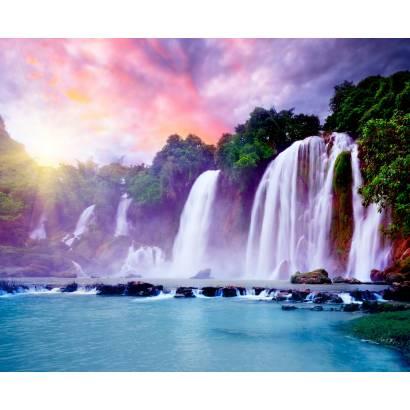 Фотообои Живописный водопад | арт.23667
