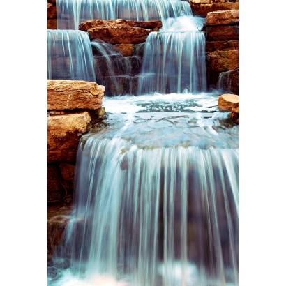 Фотообои Уступчатый водопад | арт.23668