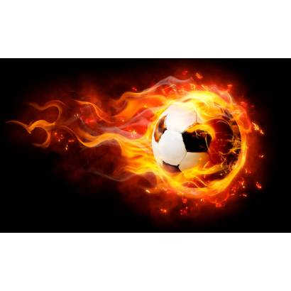 Фотообои Огненный мяч | арт.2425