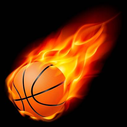 Фотообои Огненный мяч | арт.2435
