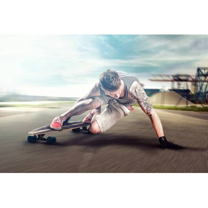 Фотообои Скейтбординг | арт.2441