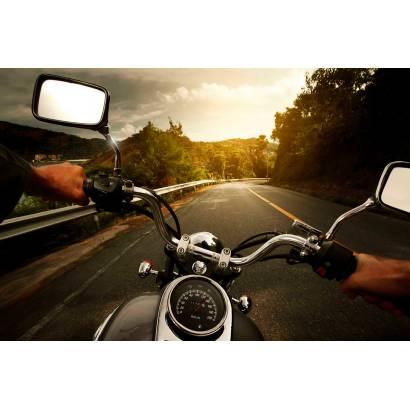 Фотообои За рулем мотоцикла | арт.2446