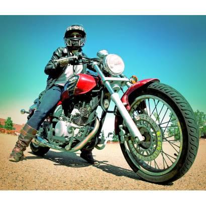 Фотообои Мотоциклист | арт.2447
