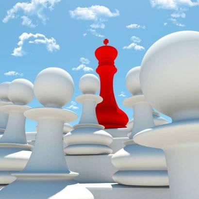Фотообои Шахматный Король | арт.2450