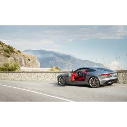 Фотообои Jaguar с красным салоном | арт.25258