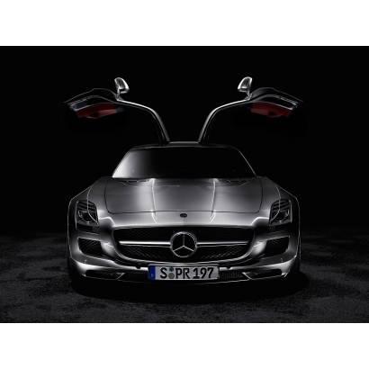 Фотообои Авто на черном фоне | арт.25264