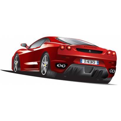 Фотообои Красный автомобиль | арт.25271