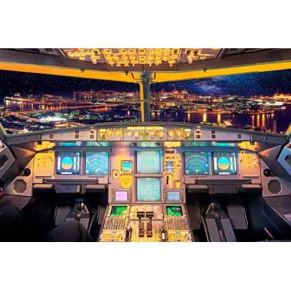 Фотообои Кабина самолета | арт.25288