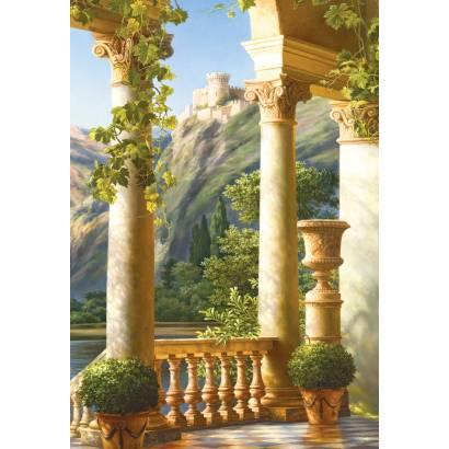 Фотообои Вид с террасы на замок | арт.26118