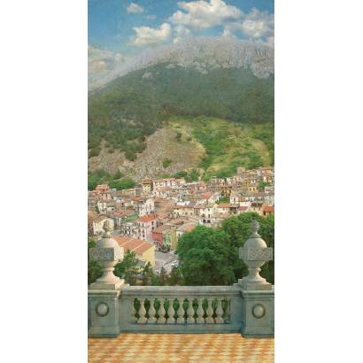 Фотообои Городок в горах | арт.26125