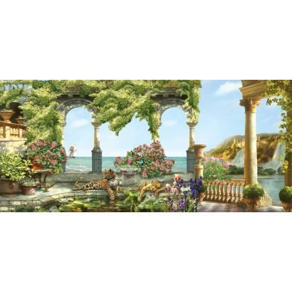 Фотообои Вид на море с прекрасной террасы | арт.26134