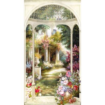 Фотообои Ротонда в саду | арт.26142