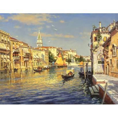 Фотообои Канал в Венеции | арт.26158