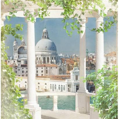 Фотообои Балкон с видом на Венецию | арт.26165