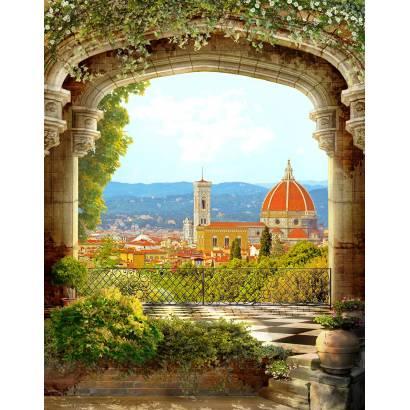 Фотообои Вид с красивого балкона | арт.26186