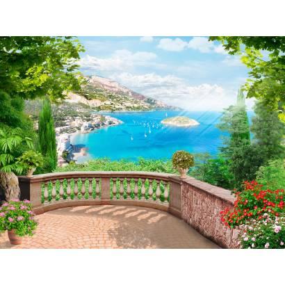 Фотообои Балкон с видом на море | арт.26190