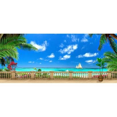 Фотообои Балкон с видом на море | арт.26206