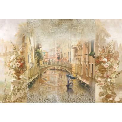 Фотообои Венеция. Коллаж | арт.26207