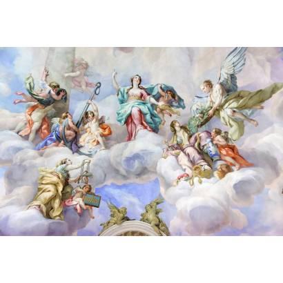 Фотообои Фреска из Карлскирхе, Австрия | арт.26222