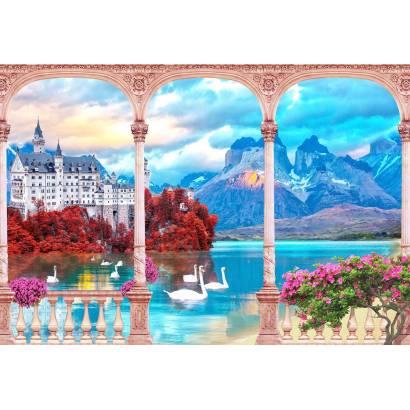 Фотообои Вид на замок | арт.26225