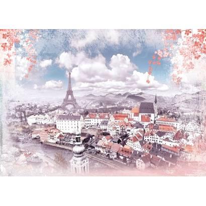 Фотообои Волшебный Париж | арт.26227