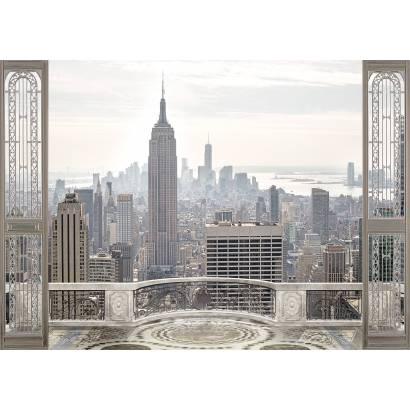 Фотообои Нью-Йорк. Вид с балкона | арт.26237