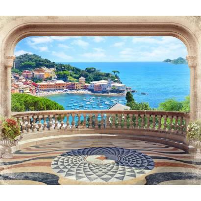 Фотообои Балкон с видом на море | арт.26244