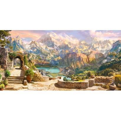 Фотообои Панорамный вид на горы | арт.26247