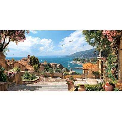 Фотообои Вид на море с высокой террасы | арт.26256
