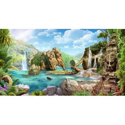 Фотообои Тропический пейзаж | арт.26259