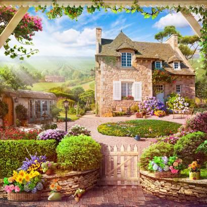 Фотообои Французский особняк | арт.26262